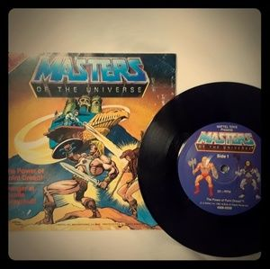 MASTERS OF THE UNIVERSE 2 STORIES 33 RPM Marvel